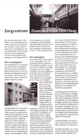 Zorgcentrum Doorniksestraat