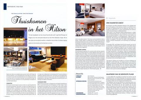 Thuiskomen in Hilton Rotterdam A3
