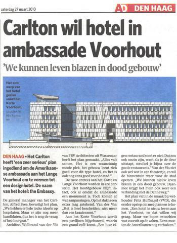 Carlton wil ambassade