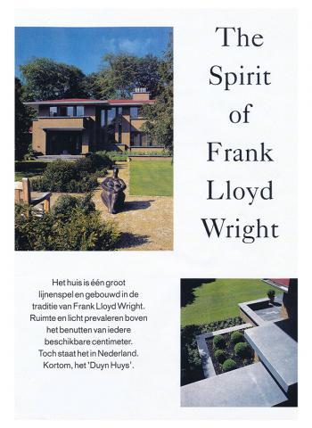 Spirit of Frank Lloyd Wright